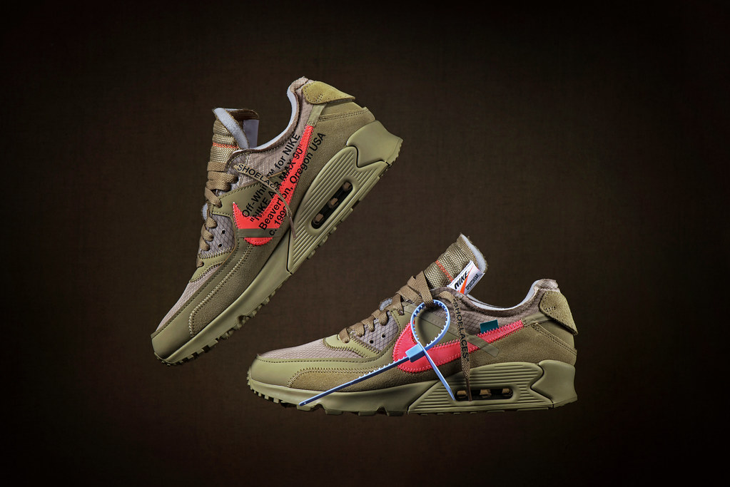 check out 96c96 3c3f0 Off White x NIKE Air Max 90  quot  Desert Ore  quot  (Andy