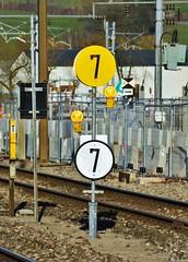 Ettelbréck 15.02.2019 (The STB) Tags: luxembourg luxembourgrailways lëtzebuerg railway train chemindefer zug eisenbahn signal railwaysignal eisenbahnsignale eisebunn