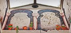 Amargosa Hotel Mural 2327 C (jim.choate59) Tags: deathvalleyjunction jchoate on1pics mural trompedoeil desert decay peelingpaint amargosaoperahouse amargosahotel martabecket deathvalley