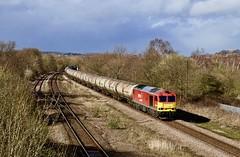 60007 Woodhouse Mill 10 Mar 19 (doughnut14) Tags: tug class60 rail freight diesel loco woodhousemill oldroad midland lindsey oil kingsbury terminal cum db 60007 tomkendell sheffield