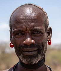 Hamar Warrior  (in explore) (Rod Waddington) Tags: africa african afrique afrika äthiopien ethiopia ethiopian ethnic etiopia ethnicity ethiopie etiopian omovalley outdoor omo omoriver hamer hamar warrior portrait people culture cultural