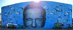 Robin Williams by Jerkface & Owen Dippie (wiredforlego) Tags: graffiti mural streetart urbanart aerosolart publicart chicago illinois ord jerkface owendippie