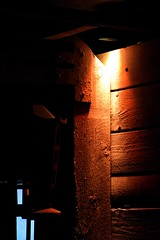 The dark corner (Pictures in my head) Tags: lisbon portugal new city town discover explore explorer museum history student curious friends free time holiday after exams lisboa dark corner contrasts colours beauty photography detail wood old architecture amazing ancient enjoy exhibition experience relax trip tranquility underground photo picture quality students decoration darkness friend medieval memory colors calm visit