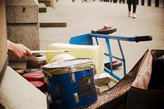 Faits main (Atreides59) Tags: londres london angleterre england urban urbain musique music musicien musician batterie people street pentax k30 k 30 pentaxart atreides atreides59 cedriclafrance