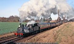 2004 - GER on the GCR.. (Robert Gadsdon) Tags: 2004 greatcentralrailway ger lner j15 060 65462 steam preserved woodthorpe