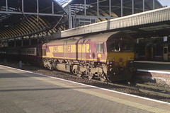 66153 (Rob390029) Tags: ews class 66 66153 newcastle central railway station ncl train