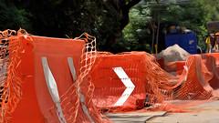 Condesa Construction IV (Mexico City 3 July 2016) (Carl Campbell) Tags: mexicocity coloniacondesa nikond5200 streetwork cdmx distritofederal ciudaddeméxico