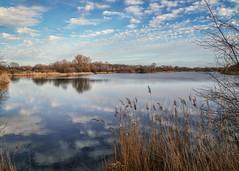 2_1 (KRR_3) Tags: sony a6000 nex sel18105g spring lake pond poznan poznań szachty sky clouds