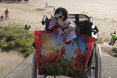Elvis toy (kevin Akerman) Tags: toy elvis wheelchair seafront beach festival porthcawl
