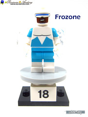 18) Frozone (WhiteFang (Eurobricks)) Tags: lego minifigures cmfs collectable walt disney mickey characters licensed design personality animated animation movies blockbuster cartoon fiction story fairytale series magic magical theme park medieval stories soundtrack vault franchise review ancient god mythical town city costume space