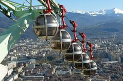 La Bastille Grenoble . France (ericmad) Tags: sorties bastille 2014 divers