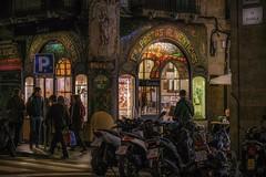 Paseo por la rambla (karinavera) Tags: city night photography urban ilcea7m2 rambla people barcelona