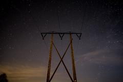 Strommast @ night (ingohoffmann1) Tags: sterne strommast electricaltower