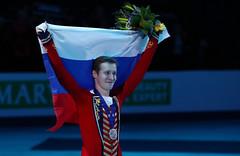 Фигурное катание. Чемпионат Европы по фигурному катанию (Sport24.ru) Tags: спорт sport флаг медаль россия сборнаяроссии улыбка
