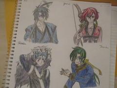 Fan Art (jasakhan10) Tags: art drawing characters fanart anime hak yonaofthedawn yona jaeha shinha