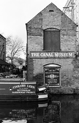 Nottingham Canal Museum (stevebeck66) Tags: canal museum nottingham beeston wharf boat industrial heritage transport mono bw olympus blackwhite nottinghamcanal nottinghambeestoncanal