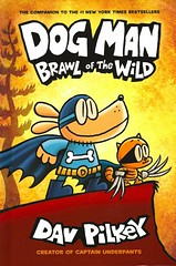 Dog Man : Brawl of the Wild (Vernon Barford School Library) Tags: davpilkey dav pilkey dogman unleashed humour humor humorous dogs heroes police graphic novel novels graphicnovel graphicnovels cartoons comics vernon barford library libraries new recent book books read reading reads junior high middle school nonfiction hardcover hard cover hardcovers covers bookcover bookcovers paperoverboard pob 9781338236576