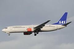 LN-RRS (LIAM J McMANUS - Manchester Airport Photostream) Tags: lnrrs sk sas scandinavian sasscandinavian scandinavianairlines ymerviking boeing b737 b738 738 b73h 73h boeing737 boeing737800 egcc manchester man