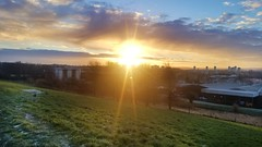 Winter Sunrise (Michelle O'Connell Photography) Tags: drumchapel glasgow heathcotavenue wintersunrise wintermorning sunrise sunbeam lensflare theedringtongroup blairdardie glasgowlandscape scene morning naturalcolours naturephotography naturescape colourfulsky skyporn drumchapellifesofar michelleoconnellphotography sunrisesunset landscapephotography naturecolours