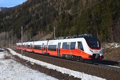 4758 004, Slp 93223. Kolbnitz (M. Kolenig) Tags: 4758 cityjet tauernbahn schnee baum wald
