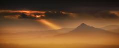 Pico Sacro (Noel F.) Tags: sony a7r a7rii ii fe 100400 gm pico sacro boqueixon neboa fog mist galiza galicia