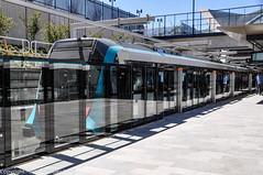 Sydney Metro - Cherrybrook revisted (2) (john cowper) Tags: sydneymetro cherrybrook station metrotrain metropolis alstom transportfornsw infrastructure openday sydney newsouthwales australia