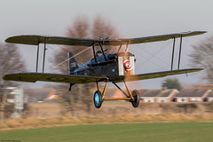 SE5a (Aeroplanes Everywhere) Tags: aircraft canoneos7dmark2 aviation 100mm400mm oldwarden biplane gerfc