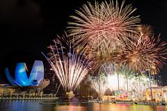 River HongBao Fireworks (.John Wong) Tags: singapore river hong bao 2019 fireworks chinesenewyear