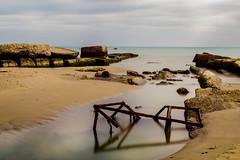 Metaponto beach (Angelo Petrozza) Tags: metaponto basilicata hoya prond 1000 pro mare sea beach spiaggia costa cost angelopetrozza hd35mmmacrolimited orizon orizzonte cielo sky nuvole clouds