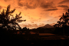Chasqui (fordc63) Tags: mountain mountains volcano volcanic geology cotopaxi ecuador southamerica latinamerica andes andesmountains inca culture travel international rondador guesthouse sunset cloud clouds altitude