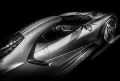 GT (Dave GRR) Tags: fordgt gt toronto auto show 2019 supercar hypercar racingcar racing motorsport monochrome mono black white bw olympus