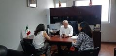 Con la Regidora de Salud de San Francisco Telixtlahuaca, Marisol Ramos Chávez trabaja nuestro coordinador Heliodoro_hcde en reforzar las acciones en materia de Protección Civil