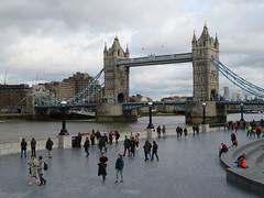Tower Bridge (jane_sanders) Tags: london towerbridge bridge thetower guoman hotel riverthames river thames queenswalk thescoop scoop morelondon londonbridgecity stkatharinedocks canarywharf