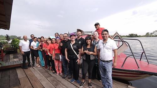 AHF Peru Testing Boat Launch