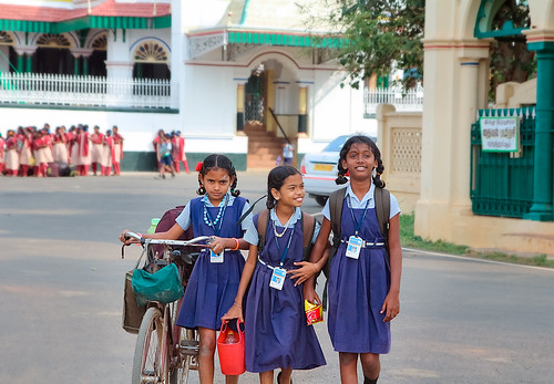 School Life in Tamilnadu before Covid-19, From FlickrPhotos