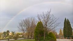 Arcobaleno sul Valdarno (carpir@rmonia) Tags: arcobaleno rainbow paesaggio landscape alberi trees