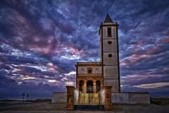 Iglesia en fantasía (ZAPIGATA) Tags: cabodegata almeria andalucia sunset sky nubes cielo clouds zapigata