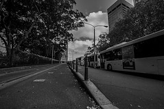 DSC01501 (Damir Govorcin Photography) Tags: central railway station sydney blackwhite buses sky clouds wide angle monochrome sony a7rii zeiss 1635mm lines leading composition