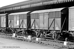 20/07/1963 - York. (53A Models) Tags: britishrailways gwr 12t goodsfruitvan fruita w134206 goodswagon freightcar york train railway locomotive railroad