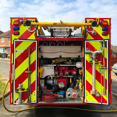 365.90 - Oops (AmyGStubbs) Tags: 2019 31mar19 365the2019edition 3652019 day90365 emergency fire fireengine iphone7