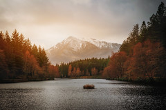 Glencoe Lochan (Samantha Nicol Art Photography) Tags: glen loch scape landscape water scotland beautiful samantha nicol art photography hills trees framed