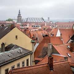 Foggy Roofs of Bamberg (Jannik Peters) Tags: sony fe 55 za roofs architecture fog foggy