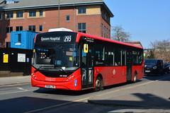 DXE30289 - 293 Epsom Hospital (Gellico) Tags: ratp london bus route 293 dxe 30289