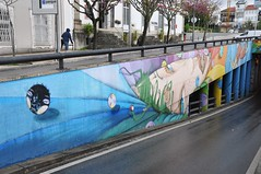 Braga - street art (jaime.silva) Tags: braga portugal portugalia portugalsko portugália portugalija portugali portugale portugalsk portogallo portugalska portúgal portugāle painting paint spraypaint spray spraypainting muralpainting mural pinturamural streetart streetartist graffiti graf urban urbanart arteurbana utopia63