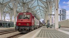 CP5603 resting at Lisboa Oriente (Nicky Boogaard) Tags: cp comboiosdeportugal comboios cp5600 5603 cp5603 icfaro intercidades lisboaoriente