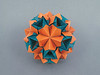 Tess (masha_losk) Tags: kusudama кусудама origamiwork origamiart foliage origami paper paperfolding modularorigami unitorigami модульноеоригами оригами бумага folded symmetry design handmade art