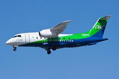Denver Air Connection (Key Lime Air) Dornier 328-300 328JET N395DC (jbp274) Tags: sna ksna airport airplanes johnwayneairport dornier 328jet keylimeair kg denverairconnection