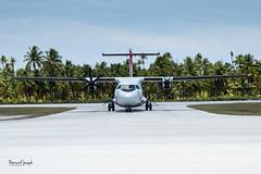 Avion Air Tahiti (paspeya007) Tags: archipel archipelago arrivéepaisible atoll corail frenchpolynesia lagon lagoon pacific pacifique palisser paradis paradise plage polynesia polynésie polynésiefrancaise sablerose tahiti tikehau tuamotu