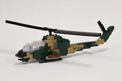 Bell AH-1G Cobra (1) (Dornbi) Tags: rotors ah1g ah1 bell cobra vietnam helicopter