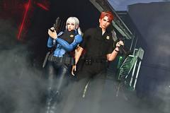 Judy&Nick (Eronmia EE) Tags: zootopia police taketomi ironwoodhills stiffpose sisu